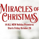 Hallmark Movies & Mysteries Announces MIRACLES OF CHRISTMAS Holiday Slate