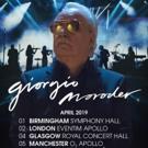 Giorgio Moroder Announces First Live Tour in Europe