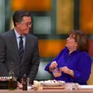 VIDEO: Colbert Cooks with Ina Garten on THE LATE SHOW Video