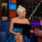 VIDEO: Lady Gaga Talks to Stephen Colbert About Her A STAR IS BORN Co-Star Bradley Cooper