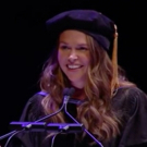 VIDEO: Sutton Foster Gives Boston Conservatory's Commencement Address