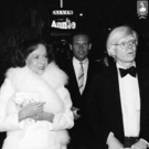 Photo Throwback: Paulette Goddard and Andy Warhol Check Out ANNIE in 1977