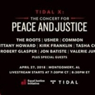 TIDAL to Livestream The Roots, Usher, Common & More From Equal Justice Initiative's Concert for Justice and Peace