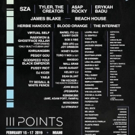 III Points Returns For 2019 with SZA, Herbie Hancock, Tyler, the Creator, James Blake and More