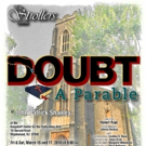 """Strollers' 2017�""""2018 Season Continues With John Patrick Shanley's DOUBT Photo"""