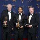 Photo Flash: Inside Andrew Lloyd Webber, Tim Rice, and John Legend's Emmy Wins