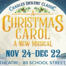 The Logos Theatre Presents A CHRISTMAS CAROL: A NEW MUSICAL Photo