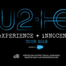 U2 Announce Details of New Album 'Songs Of Experience' + The eXPERIENCE + iNNOCENCE T Photo