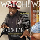Cedric the Entertainer and Jay Hernandez on the Cover of CBS' Watch! Magazine Photo