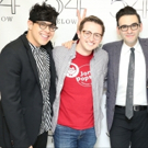 Photo Flash: BE MORE CHILL's Joe Iconis, George Salazar, and Will Roland at Feintein's/54 Below