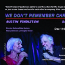 Austin Pendleton and Barbara Bleier to Return to Pangea with WE DON'T REMEMBER CHRIST Photo