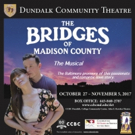 Dundalk Community Theatre to Open 2018 Season with THE BRIDGES OF MADISON COUNTY