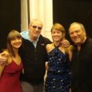Photo Flash: Danny Aiello Visits LADY MACBETH AND HER LOVER at The Directors Studio