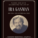 Memorial Will Be Held For Ira Gasman This Summer Photo