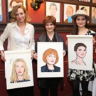 Photo Coverage: The Cast of THE PARISIAN WOMAN Joins Sardi's Wall Of Fame
