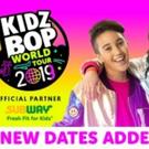 KIDZ BOP And Live Nation Announce 'KIDZ BOP World Tour 2019'