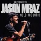 Jason Mraz to Launch Solo Acoustic Tour Following WAITRESS Run