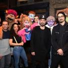 Photo Coverage: The Backstreet Boys Visit AVENUE Q