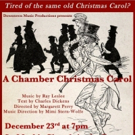 Tom Ligon Stars in Ray Leslee's A CHAMBER CHRISTMAS CAROL at St. Mark's Church
