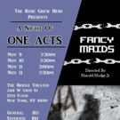 The Rose Grew Here Announces A Night Of One Acts