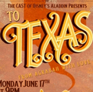 Cast Members From ALADDIN National Tour Present TO TEXAS, FROM AGRABAH, WITH LOVE: A  Photo