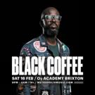 South African DJ Black Coffee Announces Headline Show at London's O2 Academy Brixton