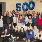 Photo Flash: THE BAND'S VISIT Celebrates 500 Performances on Broadway Photo