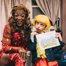 Photo Flash: Desmond Napoles Visits the Cast of KINKY BOOTS