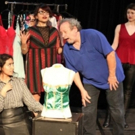 Photo Flash: First Look at Cone Man Running's Holiday Farce OUR CUPS RUNNETH OVER