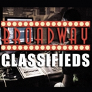 Full and Part Time Jobs in the Theatre in this Week's BroadwayWorld Classifieds, 5/16
