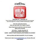 Hollywood's Legendary El Capitan Theatre Presents Special Engagement Of Disney's RALPH BREAKS THE INTERNET