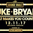 Citi Sound Vault Presents Luke Bryan at LA's Belasco Theater Tonight Streaming Live on Twitter