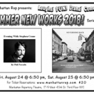Manhattan Rep Showcases NO TURNING BACK And EVENING WITH STEPHEN CRANE Photo