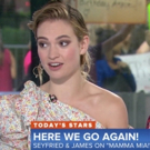 VIDEO: Amanda Seyfried and Lily James Chat Working With Cher, Singing the Music of ABBA, & More on THE TODAY SHOW