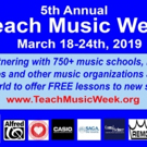 Teach Music Week to Offer Free Lessons to New Students