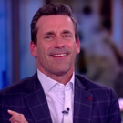 VIDEO: Jon Hamm Chats Working As A Set Decorator, Theatre Teacher, & More on THE VIEW Video