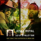 Bread Doe Joins Jesse Royal for Lily of Da Valley Tour