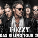 FOZZY Prepares for Upcoming 'JUDAS RISING TOUR'