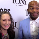 BWW TV: Bebe Neuwirth and Brandon Victor Dixon Talk All Things Tonys at the Nomination Announcement Event