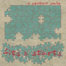 A Certain Smile Debut Second Pop Hit HOLD ON CALL From Their Debut Indiepop Album FITS AND STARTS