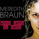 CD Review: WHEN LOVE IS GONE, Meredith Braun Photo
