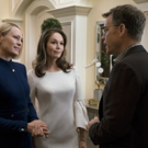 Photo Coverage: First Look at Diane Lane and Greg Kinnear on Season Six of HOUSE OF CARDS