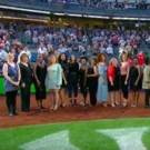 VIDEO: Casts of THIS ONE'S FOR THE GIRLS and SISTAS: THE MUSICAL Sing the National Anthem at Yankee Stadium