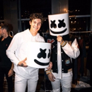 Marshmello Accepts Award for Best EDM/Dance Artist or Group at the 2018 iHeart Radio Photo