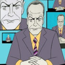 BWW Exclusive: Ken Fallin Draws the Stage - Bryan Cranston in NETWORK