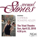 SECOND STORIES Debuts At The Triad Photo