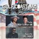 Eric Church, Florida Georgia Line, & Thomas Rhett to Headline 2018 Pepsi Gulf Coast Jam