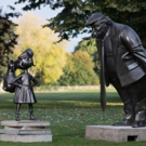 Photo: Matilda Stares Down Trump in New Statue Honoring the 30th Anniversary of Roald Dahl's Book