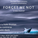 The Dare Tactic Presents Joey Contreras & Kate Thomas FORGET ME NOT A Concert Perform Photo
