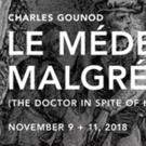 Odyssey Opera Presents Boston Premiere Of Le Medicin Malgré Lui